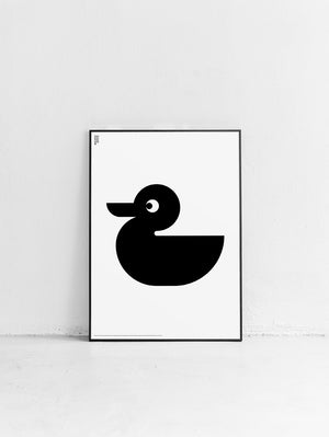 Animal Duck Poster