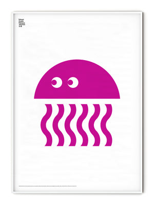 Animal Jellyfish Poster