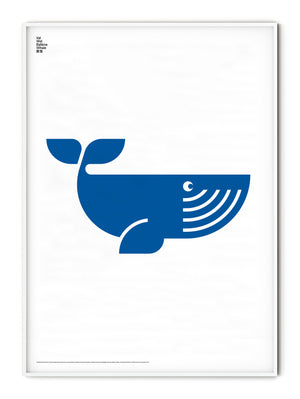 Animal Whale Poster