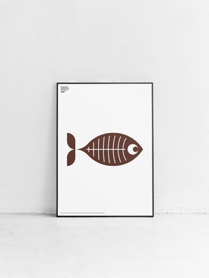 Animal X-Ray Fish Poster