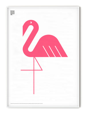 Animal Flamingo Poster