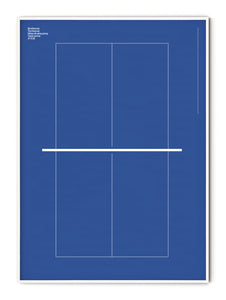 Sport Table Tennis Poster