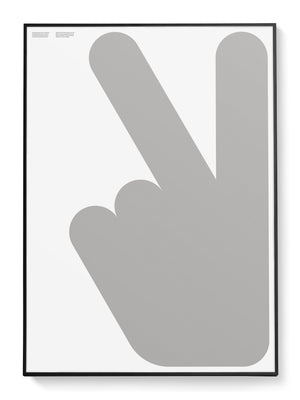 Peace Hand Poster