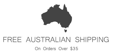 Free Australian Shipping Over $35