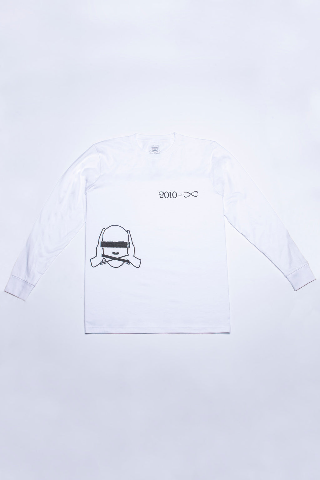 '2010 - ∞' TALLY LONG SLEEVE SHIRT