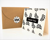 Thank You Cards - Geo Series 2