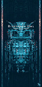 Bitstream Owl - Signed Giclée Print