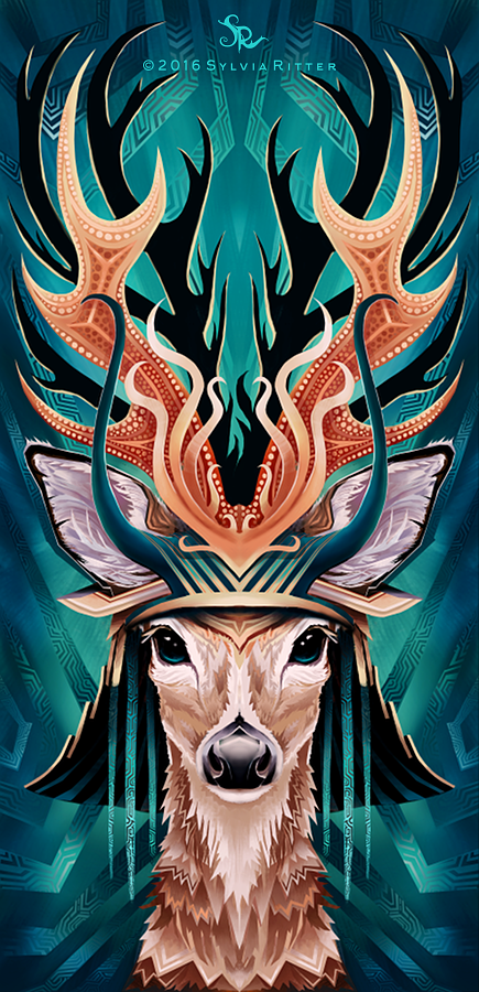 Feisty Fawn - Signed Giclée Print