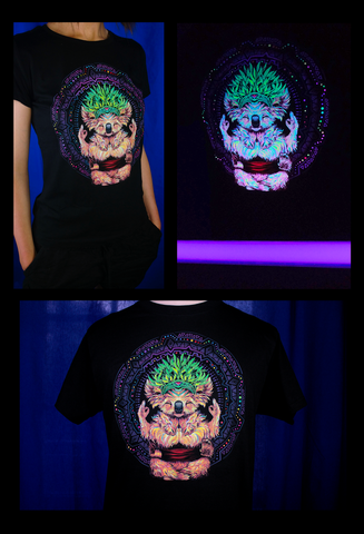 UV Reactive Karmic Koala T-Shirt