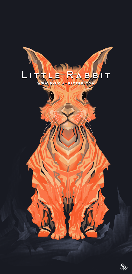 Little Rabbit - Signed Giclée Print