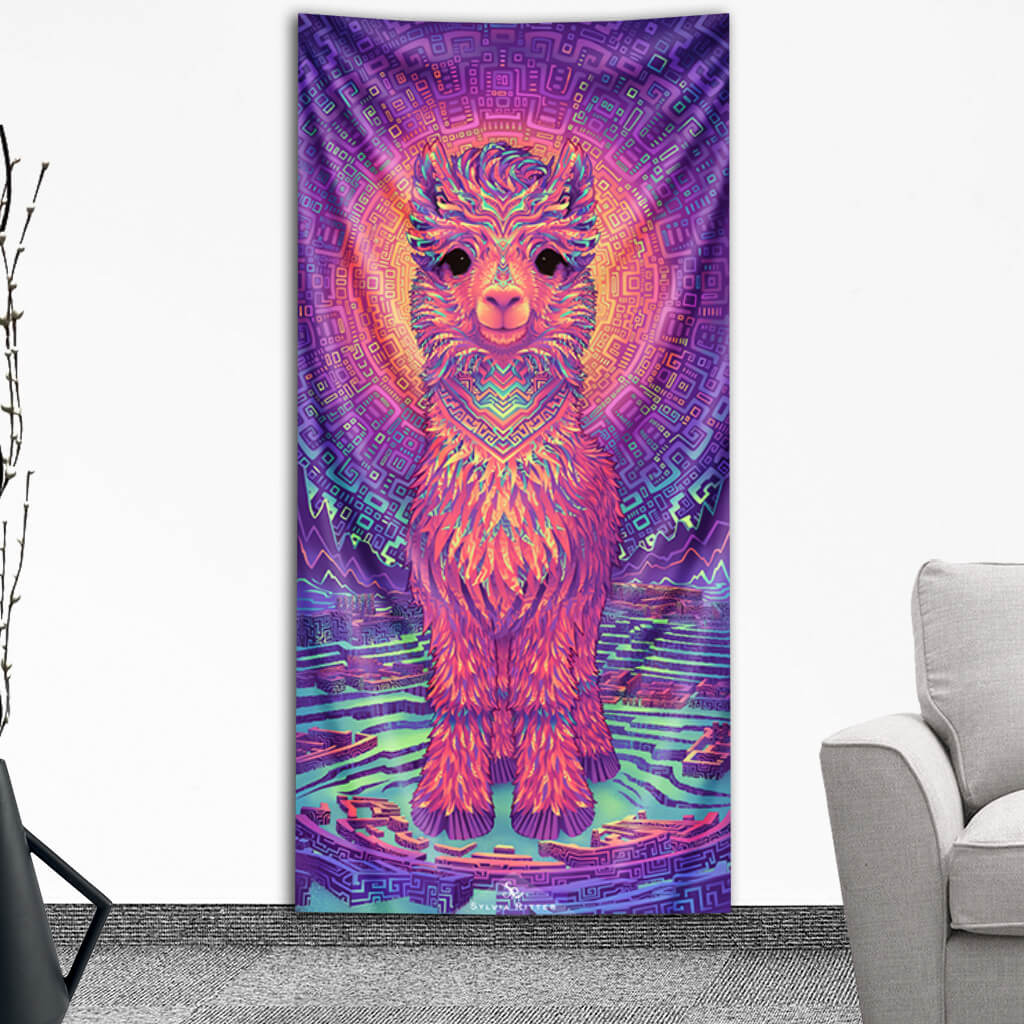 PREORDER Astral Alpaca Tapestry