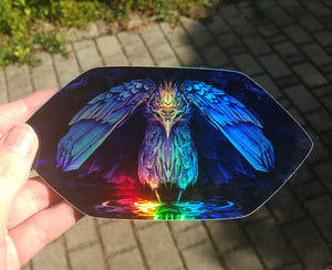 Hardy Heron - Holographic Sticker