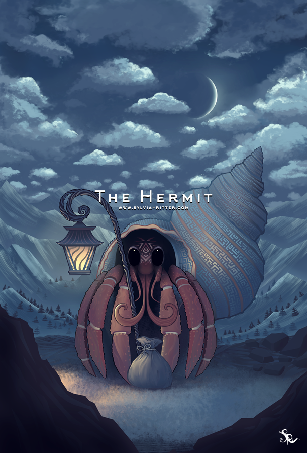 The Hermit -  Signed Giclée Print