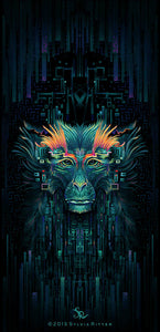 The Shaman Monkey - Signed Giclée Print
