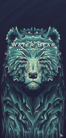 Water Bear - Signed Giclée Print