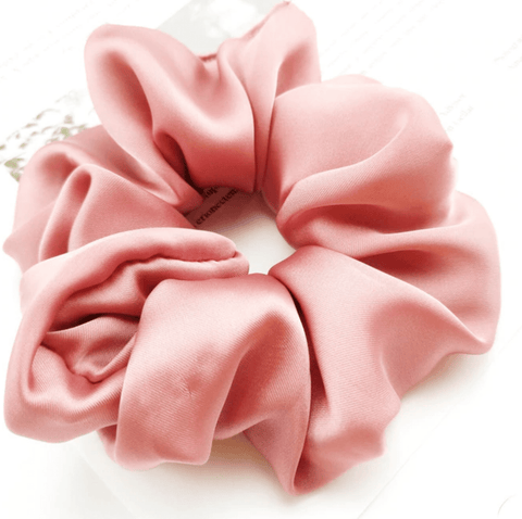 Silky Scrunchie Dusty Pink