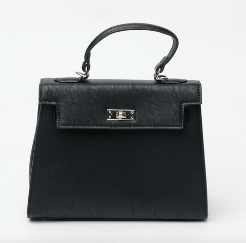 Monica Matte Black Bag Crossbody