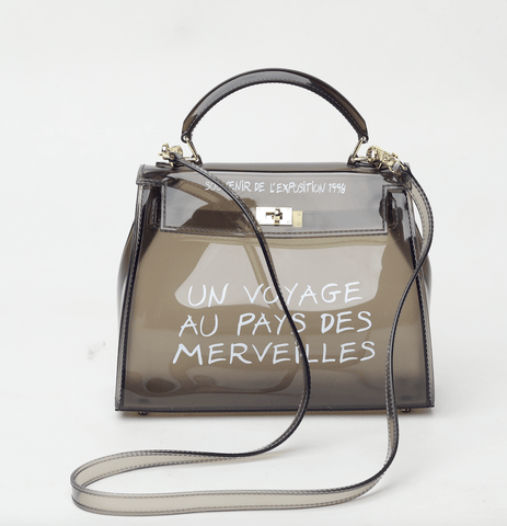 Thilde Black Clear Crossbody - Small