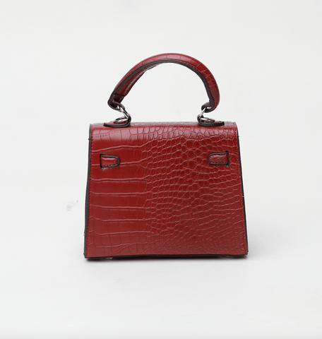 Rachel Red Flap Bag Crossbody