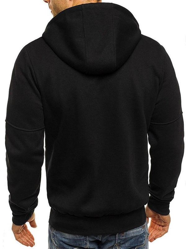 Cardigan Zipper Thick Spring Hooded Hoodies