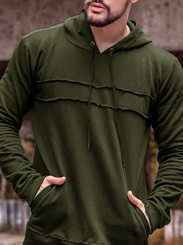 Pocket Pullover Thin Casual Pullover Hoodies