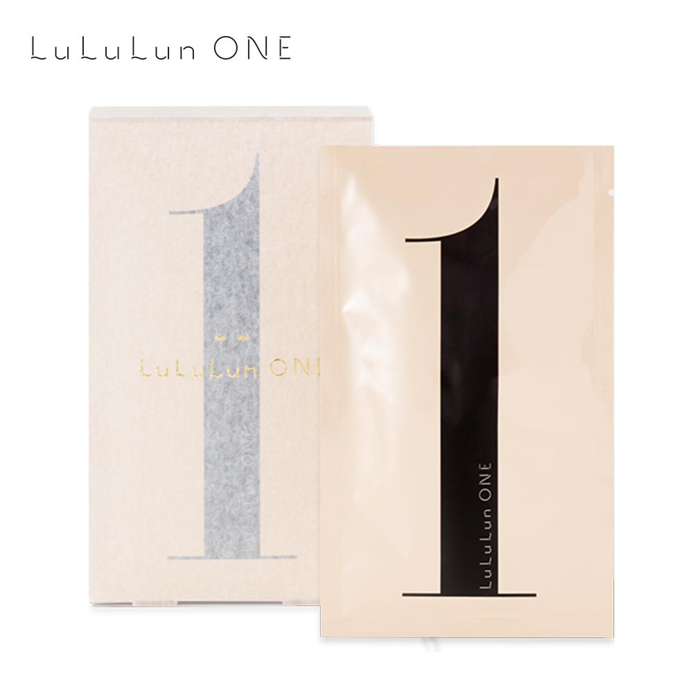 【Cosme大赏】 LULULUN ONE 顶级补水修复面膜 5pcs 黑色 simple LULULUN Default Title