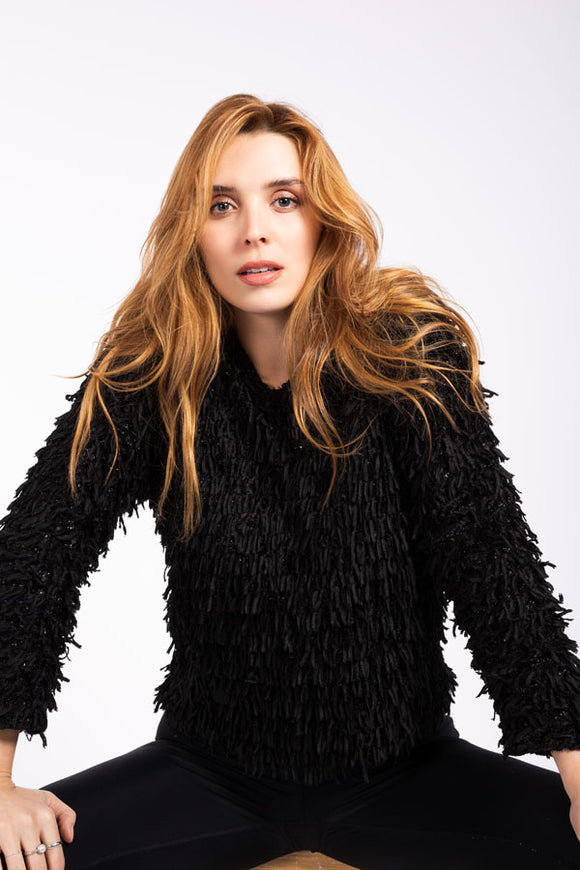 M Made in Italy - Eyelash Chunky Knit Sweater