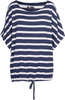 M Made in Italy - Short Sleeve Sailor Striped Top