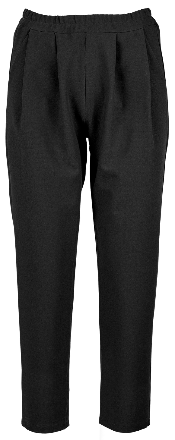 M Made in Italy - Pleated Pull-On Pants