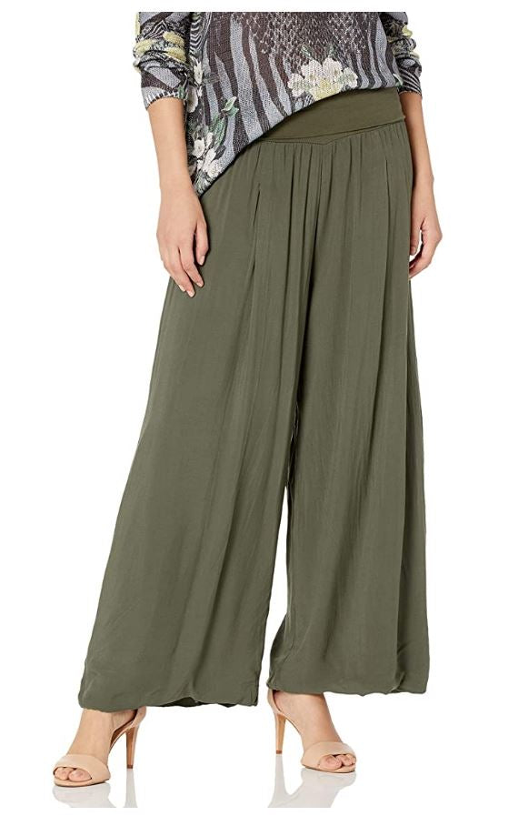 M Made in Italy - Maxi Wide Leg Pant