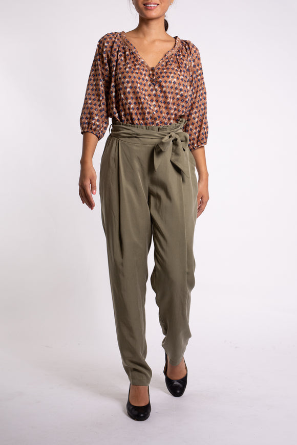 EMA&CARLA High Waist Pants