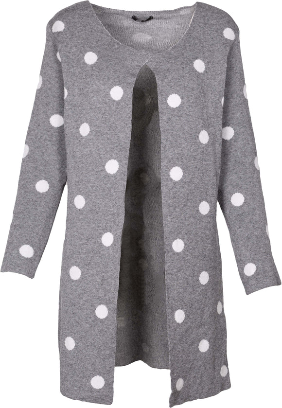 M Made in Italy - Polka Dot Cardigan