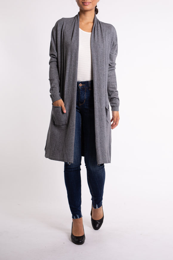 EMA&CARLA Long Cardigan