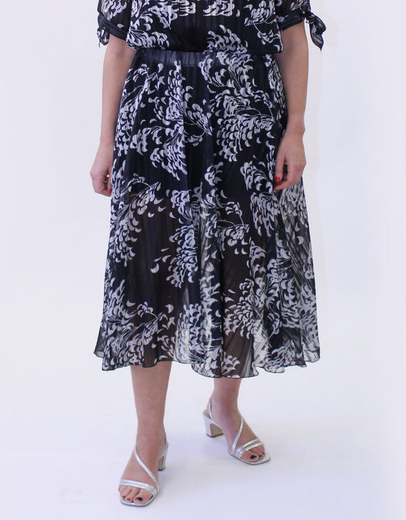 Ema&Carla All Over Print Skirt