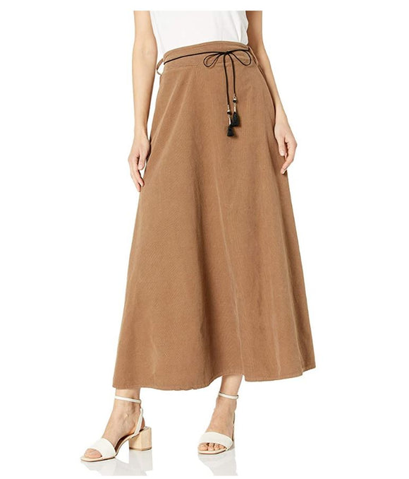 M Made in Italy - Maxi Corduroy Skirt