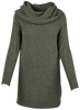 M Made in Italy - Cowl Neck Sweater Dress