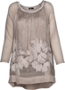 M Made in Italy - Floral Embroidered Boho Dress