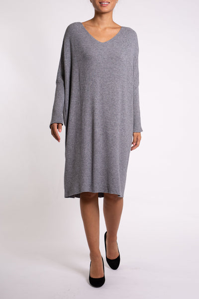 EMA&CARLA Straight Cut Sweater Dress