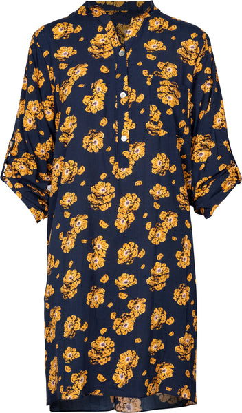 M Made in Italy - Floral Shirt Dress