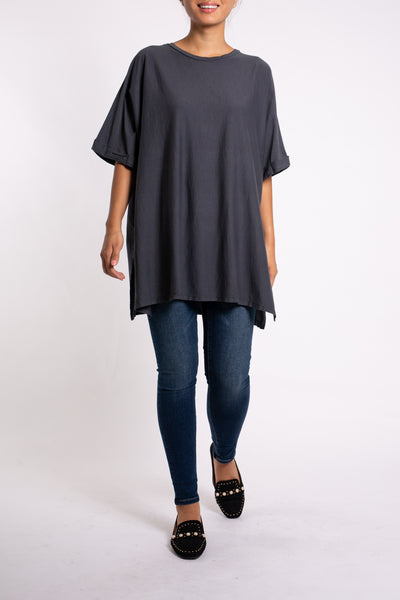EMA&CARLA Long T-shirt ample