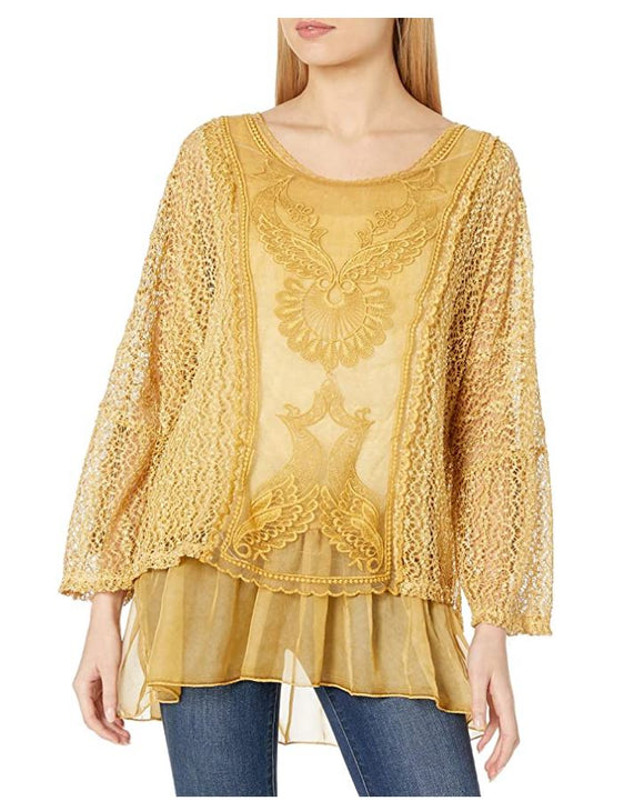 M Made in Italy - Layared Lace Tunic