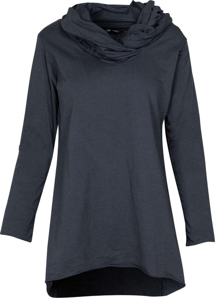 M Made in Italy - Cowl Neck Tunic