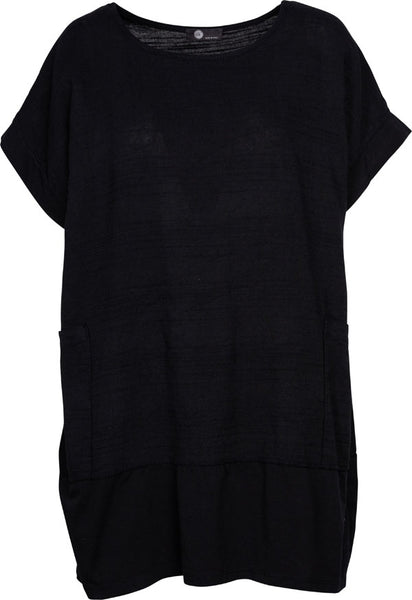 M Made in Italy - Short Sleeve Tunic Plus Size