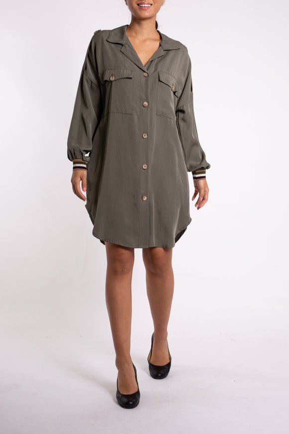 EMA&CARLA Utility Tunic Dress
