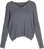 M Made in Italy - V-Neck Long-Sleeve Sweater