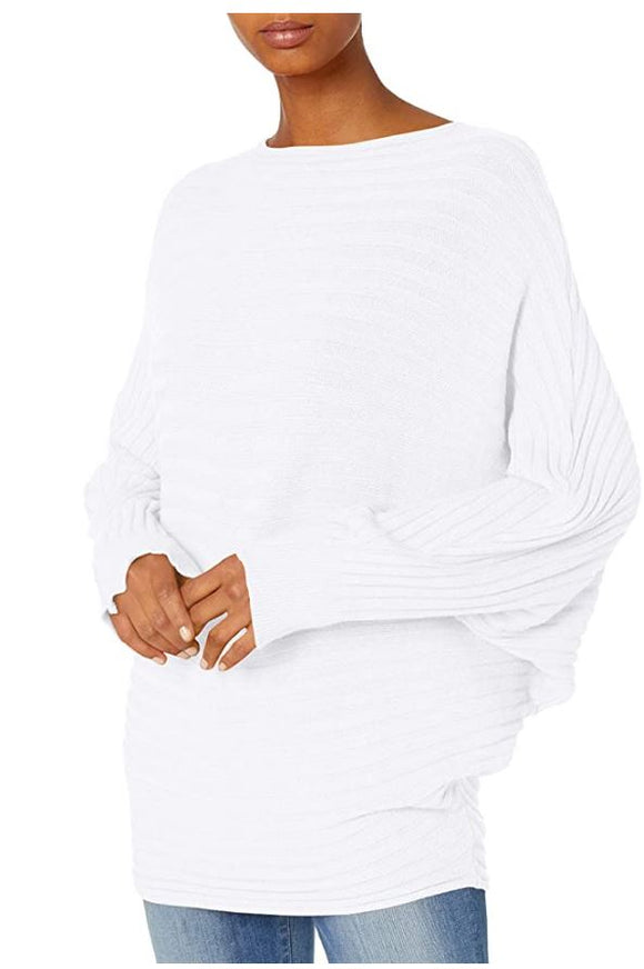M Made in Italy - Long Sleeves Ribbed Sweater