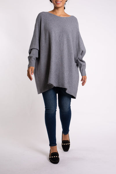 EMA&CARLA Fit-And-Flare Sweater
