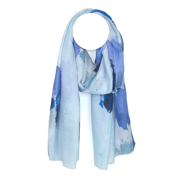 Ema&Carla - Watercolor Print Scarf