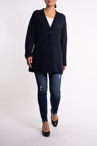 TOM TAILOR  Navy Cardigan