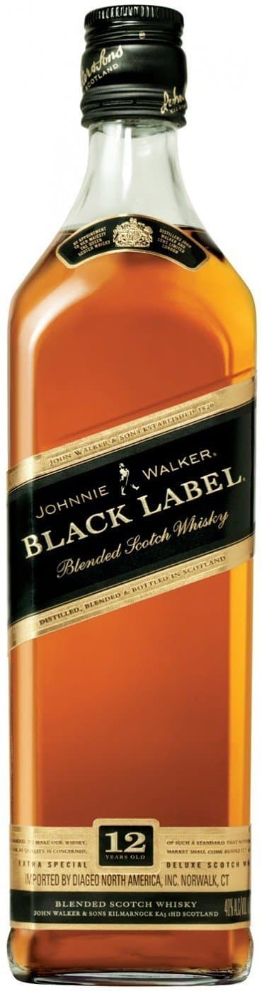 Купить - Виски Johnnie Walker Black Label 0.5л 43% | VINTAGE